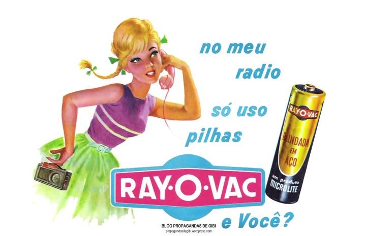 Pilhas Ray-O-Vac